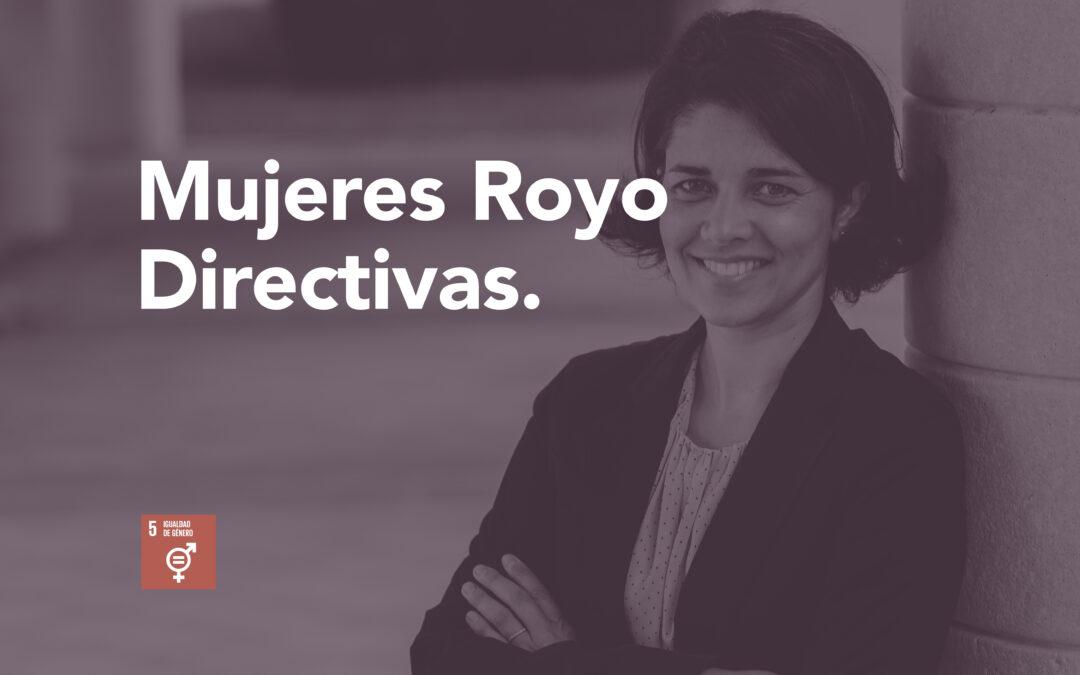 Mujeres Royo directivas: Silvia Royo
